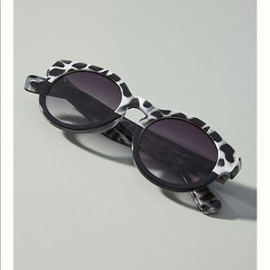 Anthropologie Rockaway Rounded Sunglasses